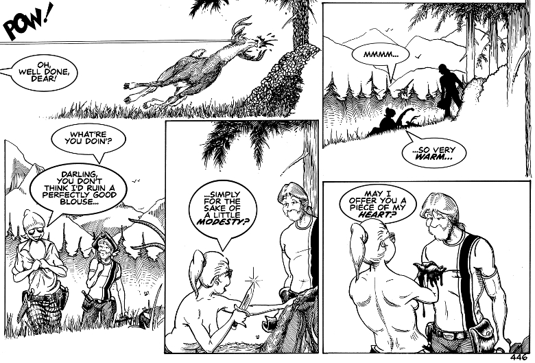 That poor deer!